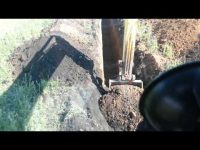 Как быстро выкопать траншею под водопровод