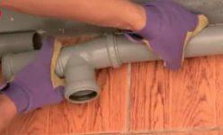 Как разобрать канализационные трубы пластиковые