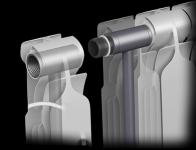 Соединение секций биметаллических радиаторов