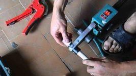 Как пользоваться сварочным аппаратом для полипропиленовых труб