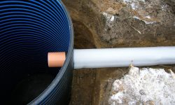 Утепление канализационной трубы в частном доме