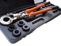 Обжимной инструмент для металлопластиковых труб
