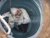 Гидроизоляция трубопроводов в земле